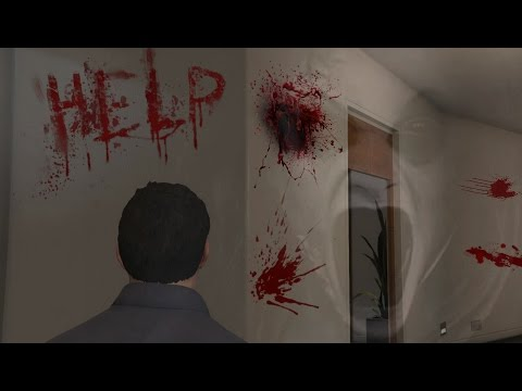 Michael Visits Franklin's Haunted House GTA 5