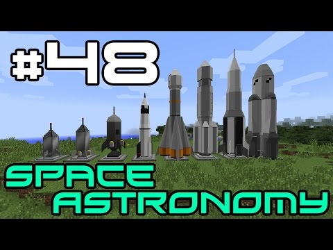Minecraft Space Astronomy - Gassy Cheese Planet! #48