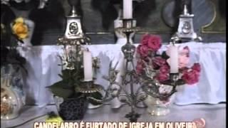 Candelabro banhado a prata � encontrado dentro de uma sacola em Oliveira