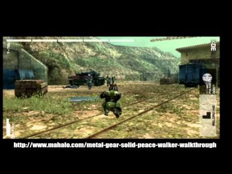 Metal Gear Solid: Peace Walker Walkthrough - Level 7 - Tank Battle: T-72U