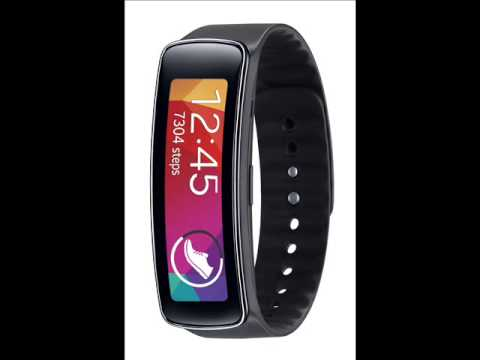 Samsung Gear Fit Fitness Tracker - Samsung Fitnes Tracker