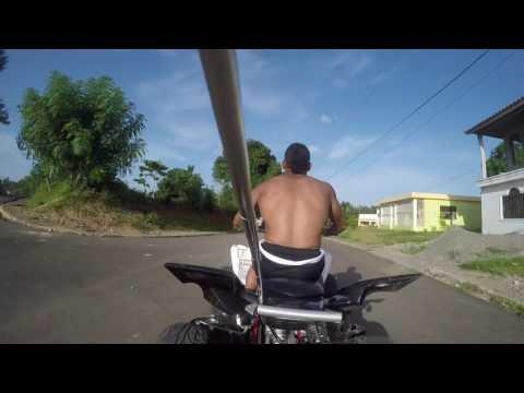 Jay riding