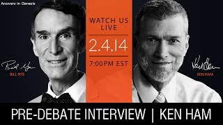 Bill Nye vs. Ken Ham | LIVE Interview