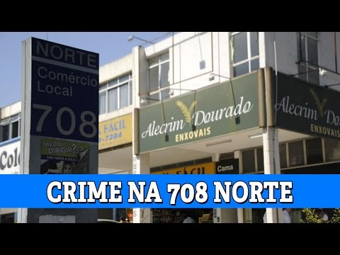 Garoto de programa mata traficante na 708 Norte - JBr Notícias 21-10-2014
