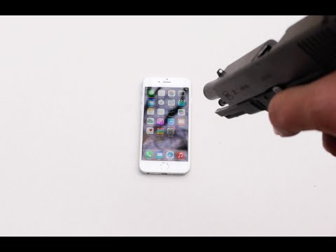 What Happens If You Shoot an iPhone 6?