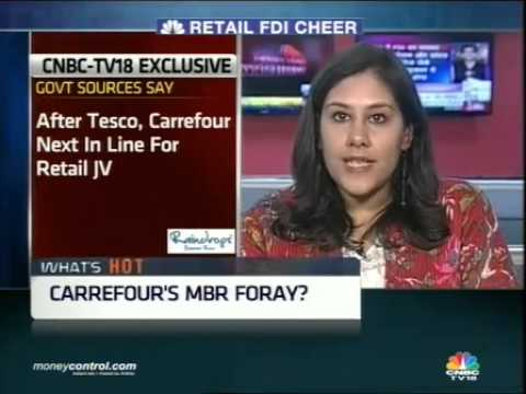 Retail FDI cheer: Carrefour likely to foray into India