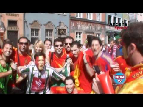 Andana TV en la Eurocopa 2012 España - Italia