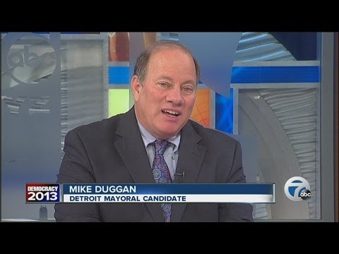 Mike Duggan speaks about Detroit mayoral run