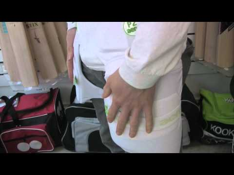 Aero P2 Stripper (Cricket Thigh Pads Set & Lower Body Protector) - NEW V7 MODEL