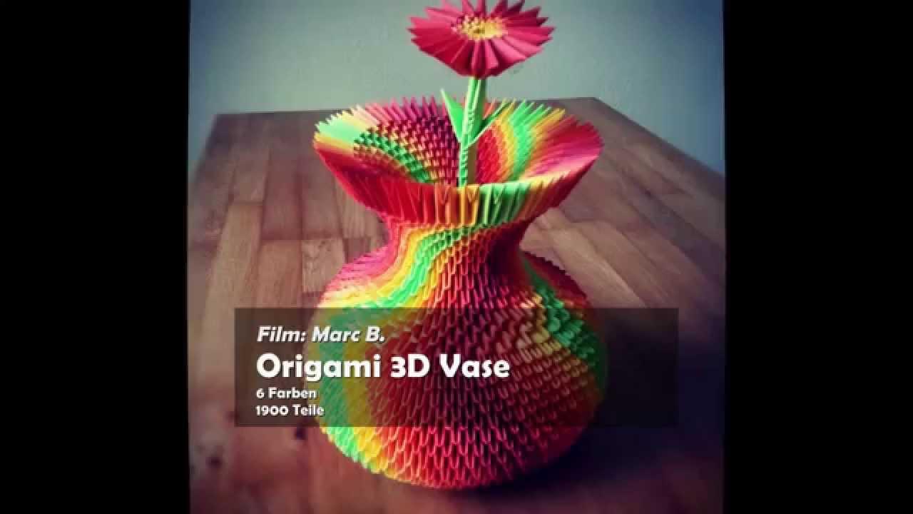 Youtube Origami Flower Vase