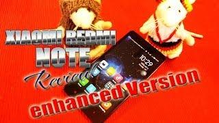 Xiaomi Redmi Note Review Enhanced Version MT6592 Octa