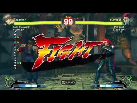 PJS Latif [Viper] vs Lamerboi [Guile] Marn [Dudley, Sagat] Rico Suave [Abel] SSF4 Endless Battle