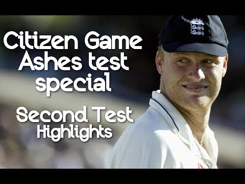 Citizen Game Ashes special - Second Test Match Highlights - EA Sports Cricket 2004
