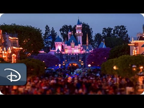 Disneyland Park Tilt-Shift | Disneyland Resort | Disney Parks