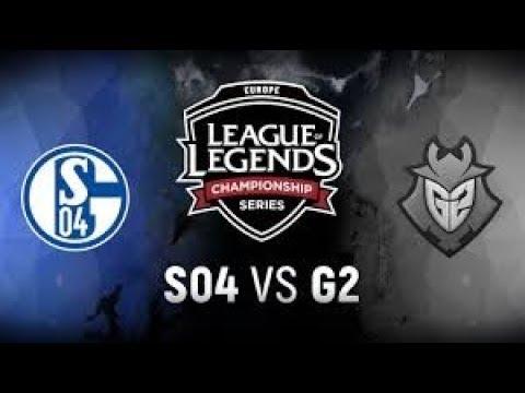 EU LCS 2018 Summer Split Tiebreaker | G2 vs S04 - G2 Esports vs. FC Schalke 04
