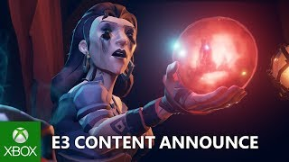 Sea of Thieves - Cursed Sails and Forsaken Shores Announce
