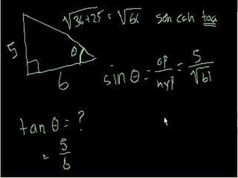 Basic Trigonometry 2