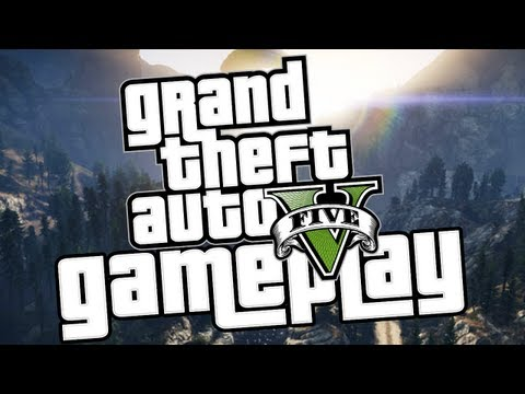 GTA 5 OFFICIAL GAMEPLAY!, Official Grand Theft Auto 5 Gameplay released by Rockstargames on July 9th 2013! Hope you guys enjoyed, if you did make sure to hit that like button! :D If y...