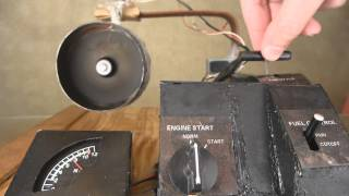 Homemade Electric Jet Engine Working Model (1:24 scale) Part 1