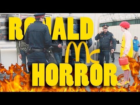 Horror Clown - Halloween Prank