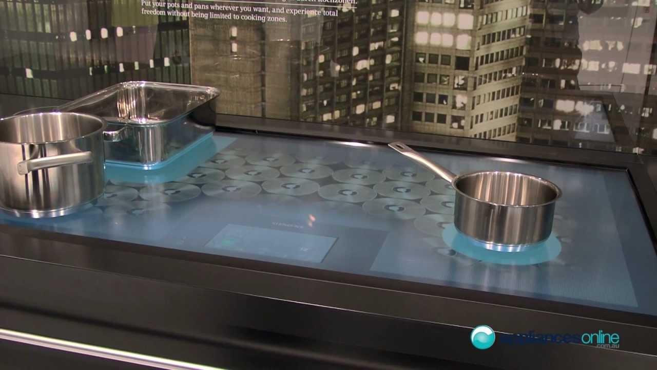 siemens 39 80cm premium free induction cook top appliances. Black Bedroom Furniture Sets. Home Design Ideas