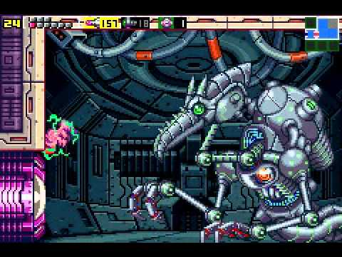 Metroid - Zero Mission - Meta Ridley Boss Battle Fail - User video