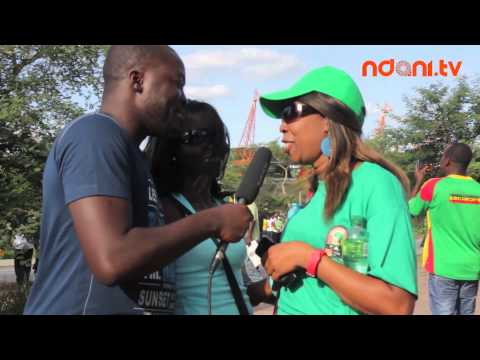 AFCON 2013 Diaries - FANS AT NELPRUIT