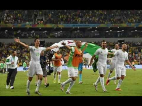 FIFA World Cup 2014 Algeria to their first ever Round of 16