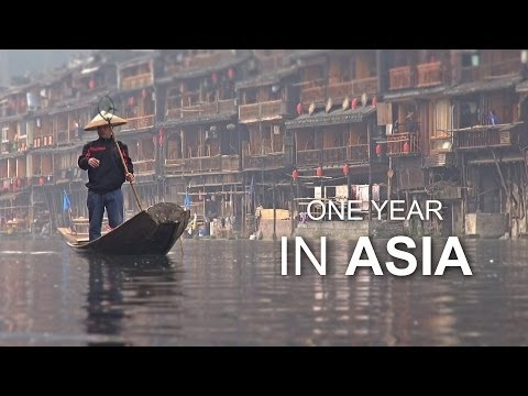 One Year In Asia