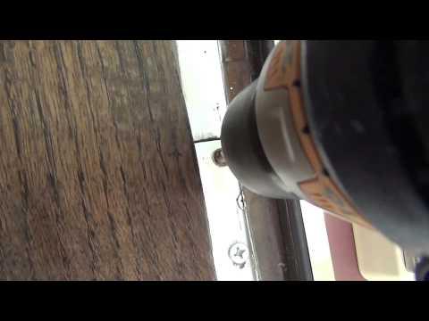 How to fix a sagging door - DIY Dad #9