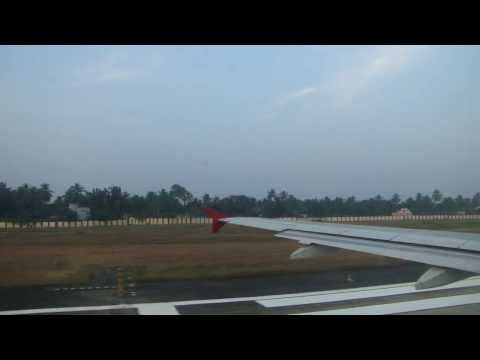 Air India take off - Trivandrum International Airport
