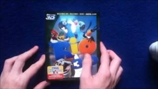 Unboxing Rio Blu-Ray 3D/Blu-Ray/DVD/Digital Copy