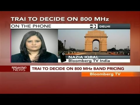 Big Story- TRAI To Decide On 800 Mhz Pricing