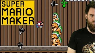 TAKING ZERO HITS LIKE A TOTAL BOSS [SUPER MARIO MAKER] except those other times