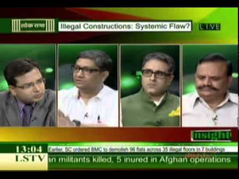Panel Discussion on Illegal Constructions: Systemic Flaw? - Lok Sabha TV Part 1