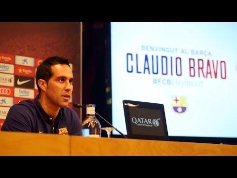 Presentación de Claudio Bravo: