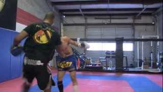 Master Cha Training At Spartan Fitness