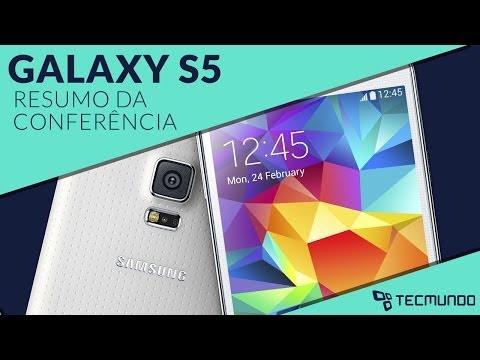 Samsung anuncia Galaxy S5 [Resumo da conferência - MWC 2014] - Tecmundo