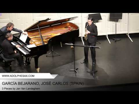 Dinant 2014 – Garcia Bejarano, Jose Carlos – 3 Pieces by Jan Van Landeghem