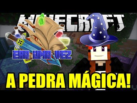 Era uma Vez #4 - MINHA PEDRA FILOSOFAL! - Minecraft