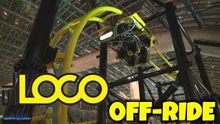 EL LOCO Off-ride (HD) Adventure Dome Circus Circus Las Vegas
