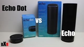 Unterschied zwischen Amazon Echo und Echo Dot | Alexa | deutsch