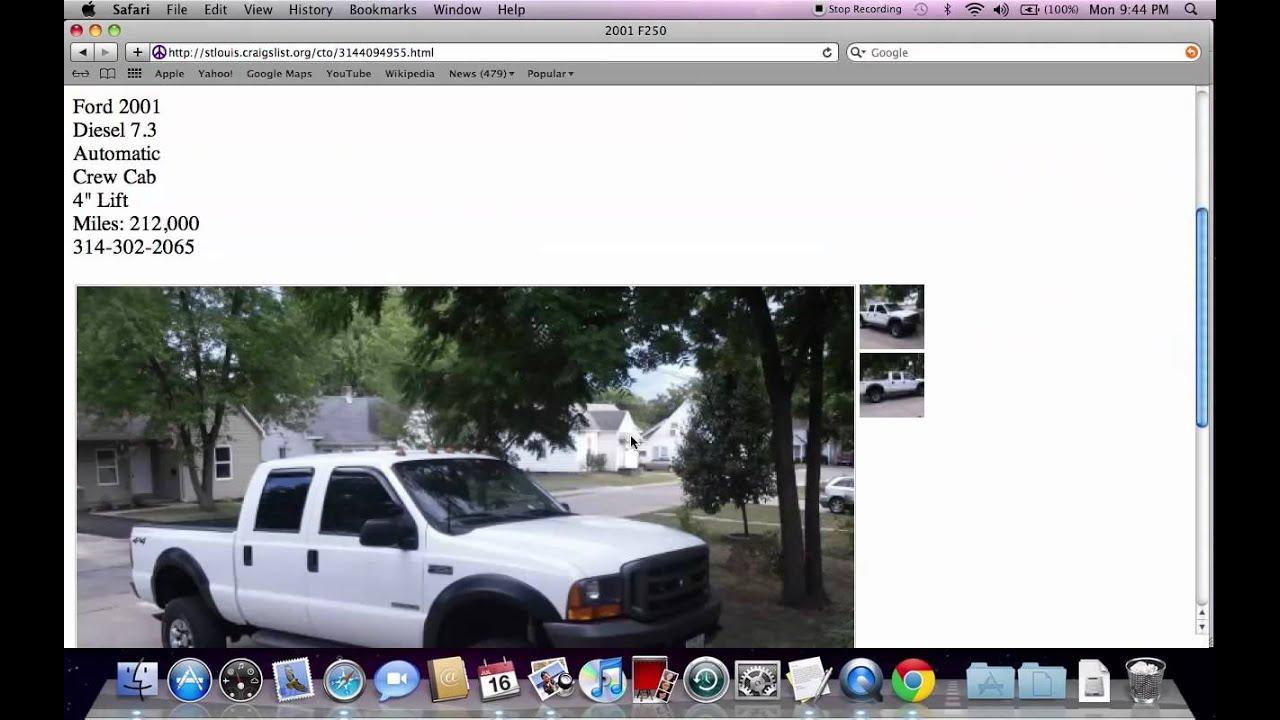 Cars For Sale On Craigslist St Louis Area