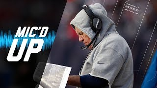 Bill Belichick Mic'd Up vs. Dolphins Is Everything You Want it to Be | NFL Sound FX