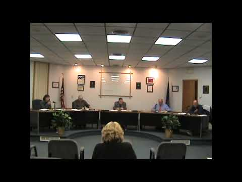 Rouses Point Village Board Meeting  10-3-11