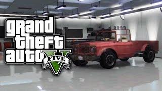 GTA 5 Online: Get Trevor's Truck Canis Bodhi (GTA V