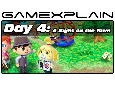 Animal Crossing: New Leaf - Day 4: A Night on the Town (3DS Video Preview)