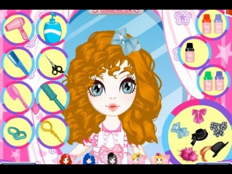Fashion Hairstyle Maker Make Up and Hairdresser Games