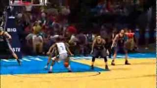 NBA 2K14: Jamal Crawford Shake And Bake Signature Layup