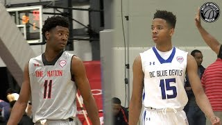 Josh Jackson vs Markelle Fultz in High School - NBA Lottery Picks Battle! Who are you drafting?
